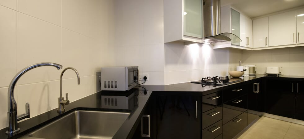 Granite worktop kitchen, fully equipped