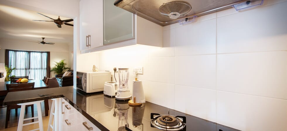 Fully equipped kitchen with everything a chef needs